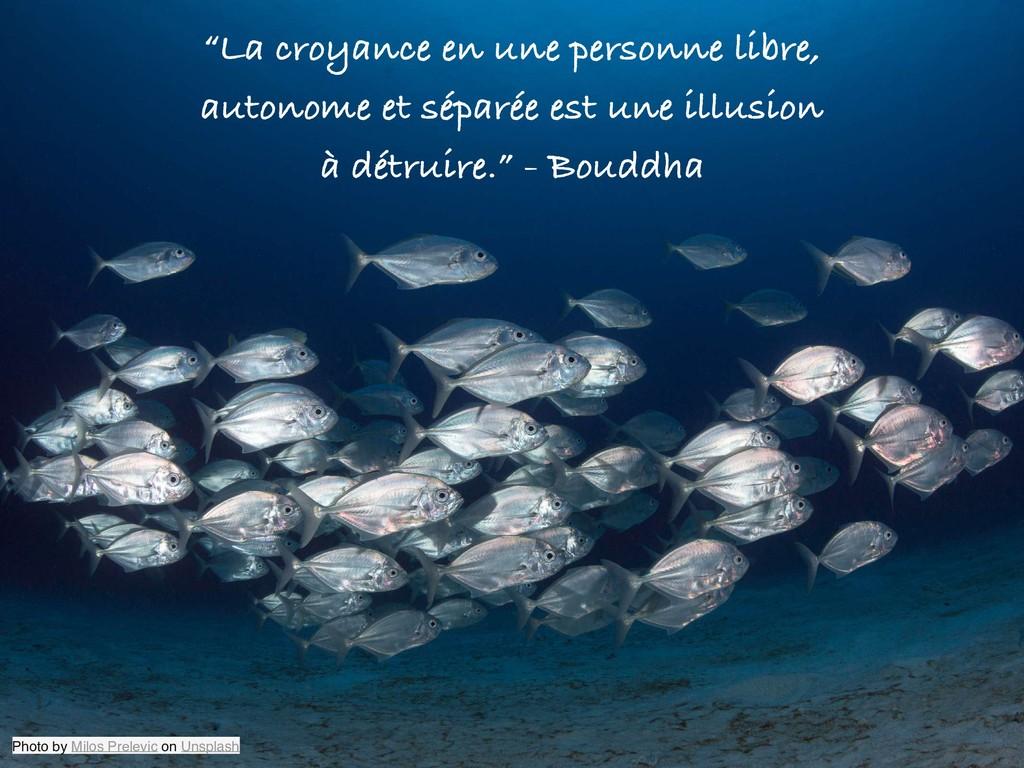 """""""La croyance en une personne libre, autonome et..."""