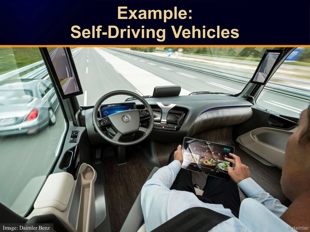 Example: Self-Driving Vehicles Example: Self-Dr...