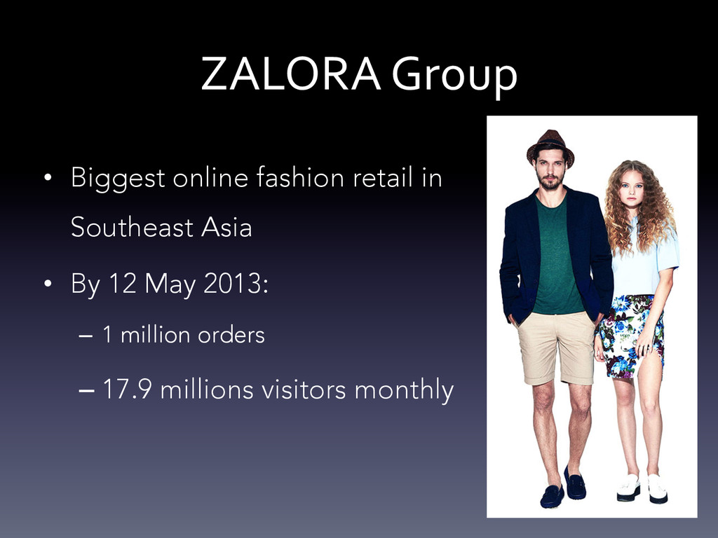 ZALORA Group  • Biggest online fashion r...