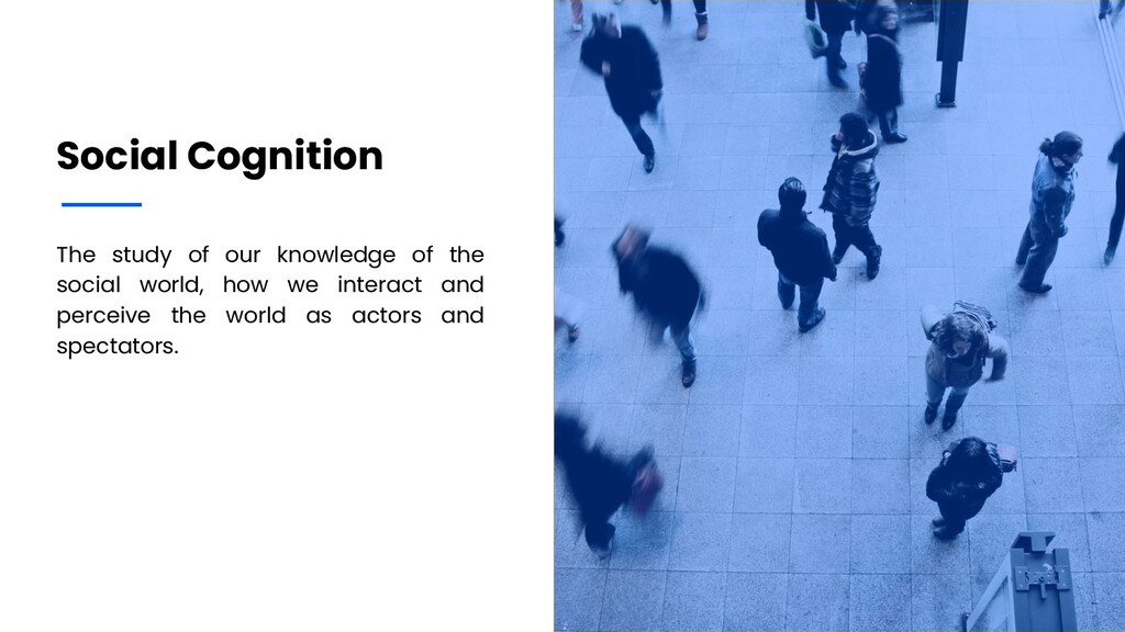 The study of our knowledge of the social world,...