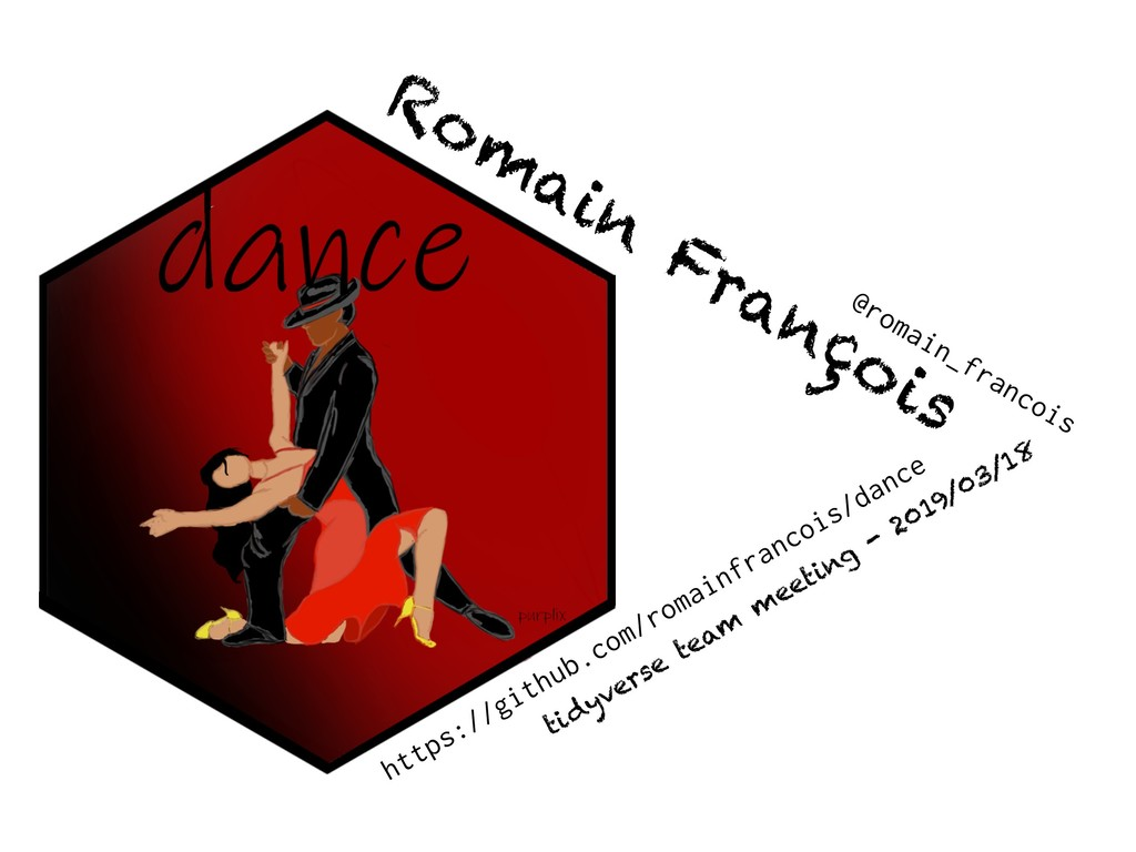 https://github.com/romainfrancois/dance Rom ain...