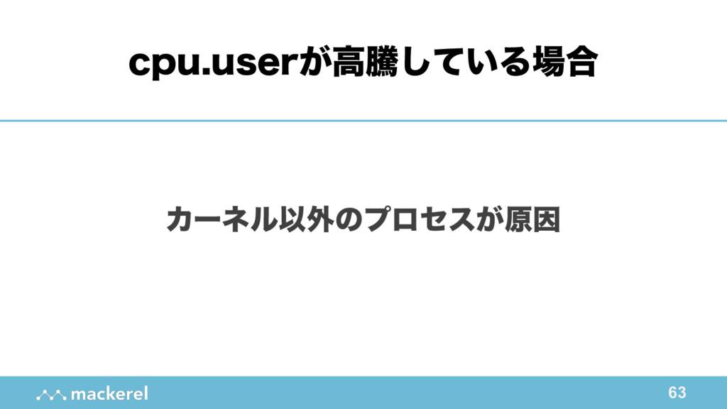 63 ΧʔωϧҎ֎ͷϓϩηε͕ݪҼ DQVVTFS͕ߴಅ͍ͯ͠Δ߹