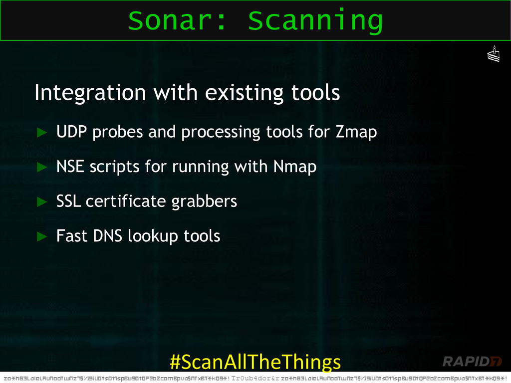 Integration with existing tools ► UDP probes an...