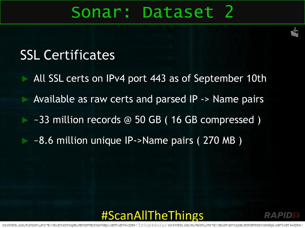 SSL Certificates ► All SSL certs on IPv4 port 4...