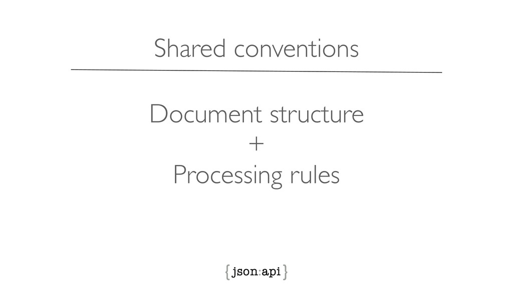 Document structure + Processing rules Shared co...