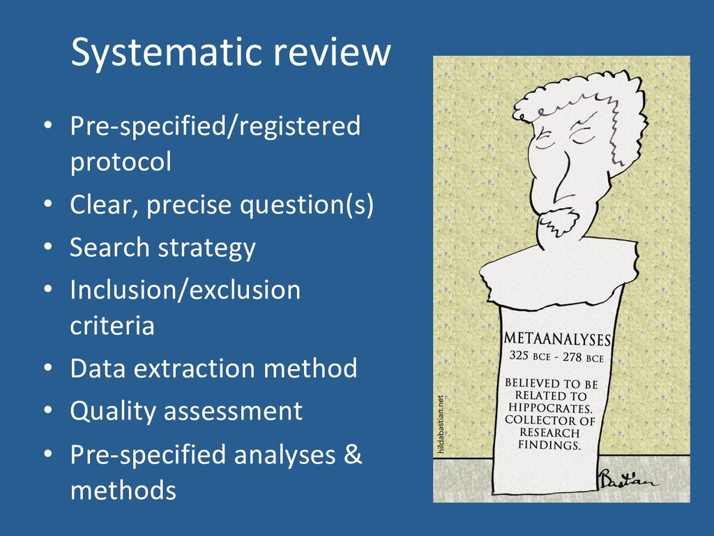 Systematic review •  Pre-specified/registered p...