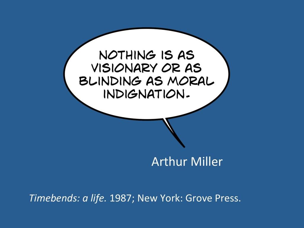 Arthur Miller Timebends: a life. 1987; New York...