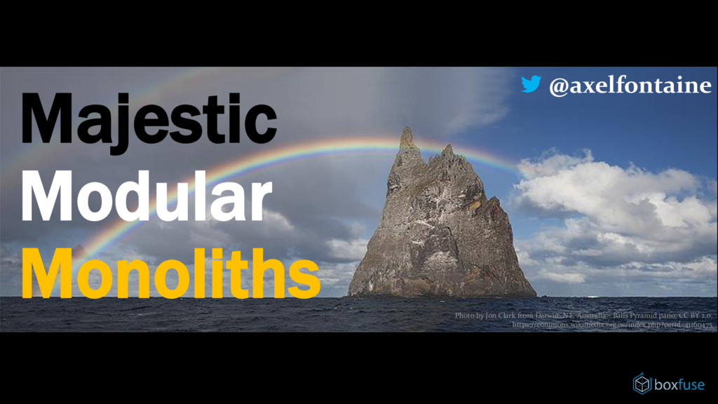 Majestic Modular Monoliths Photo by Jon Clark f...