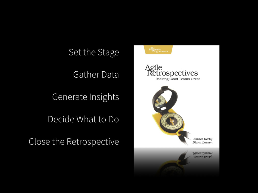 Set the Stage Gather Data Generate Insights Dec...