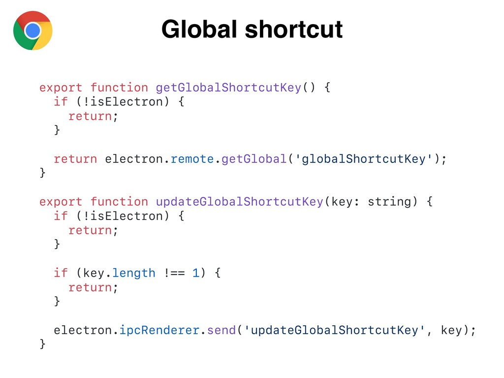 Global shortcut export function getGlobalShortc...