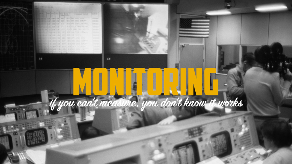 console.log('arroz'); MONITORING if you can't m...