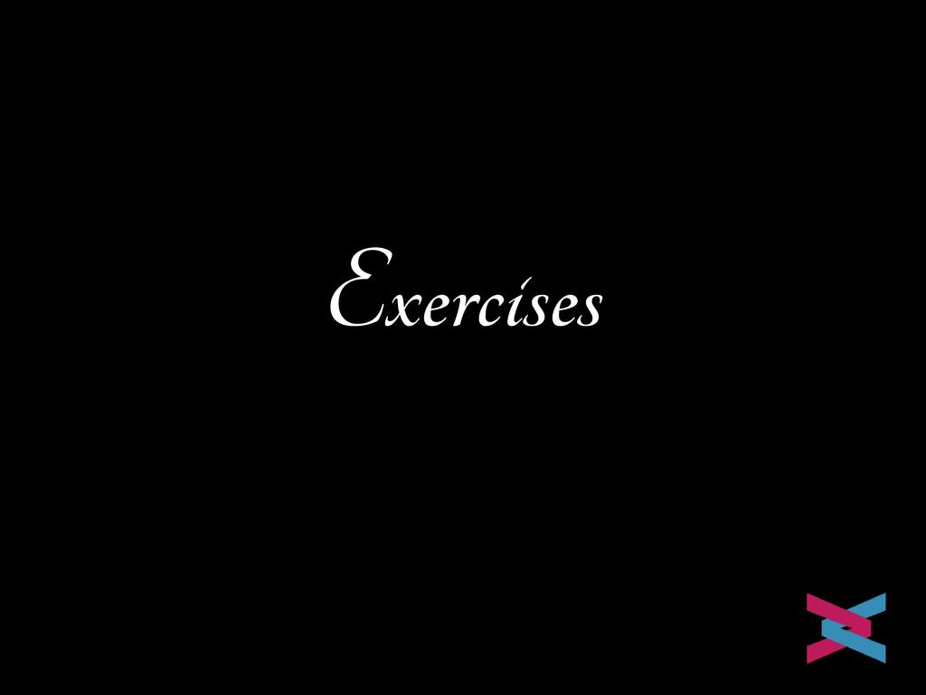 Exercises Mike van Riel