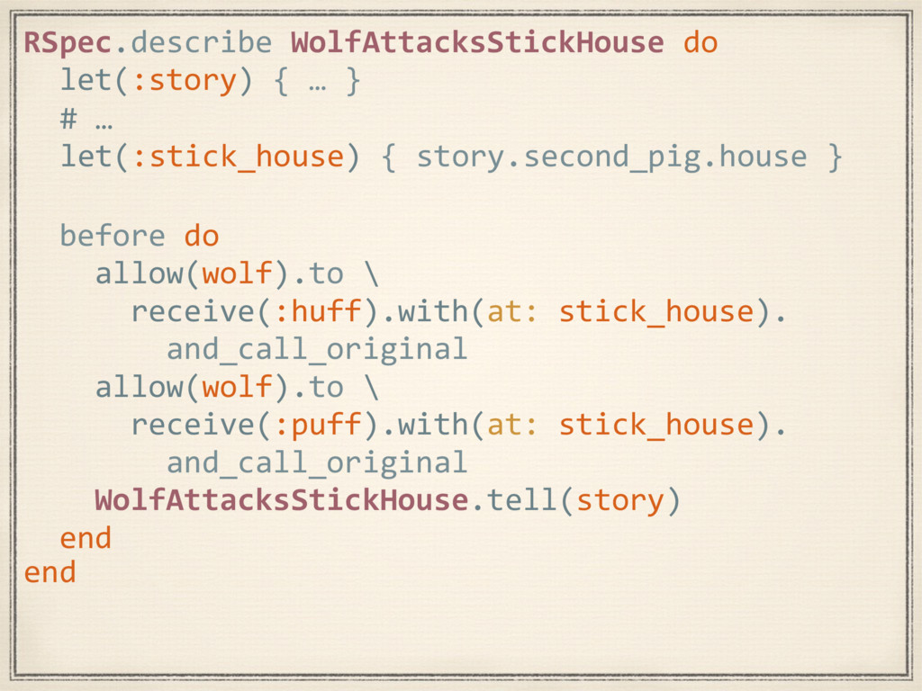 RSpec.describe WolfAttacksStickHouse do let(:st...