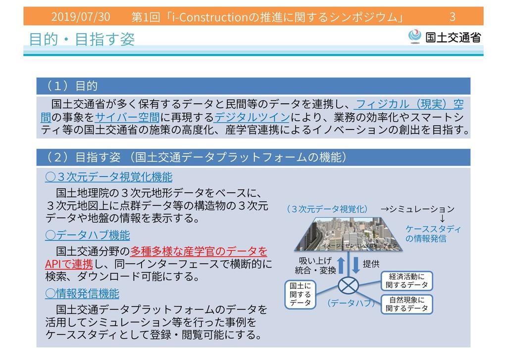 2019/07/30 1 i-Construction 3 API