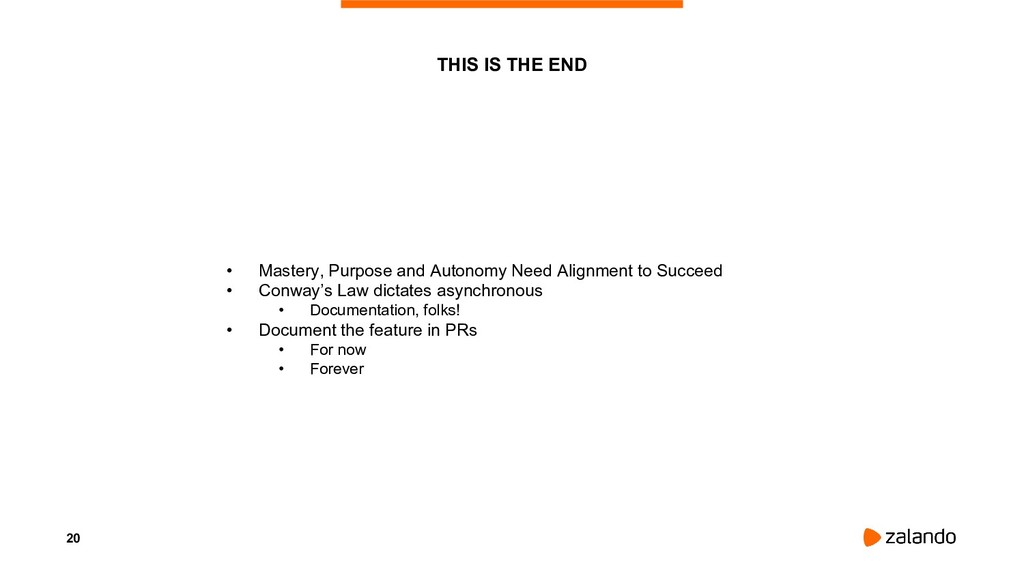 20 • Mastery, Purpose and Autonomy Need Alignme...