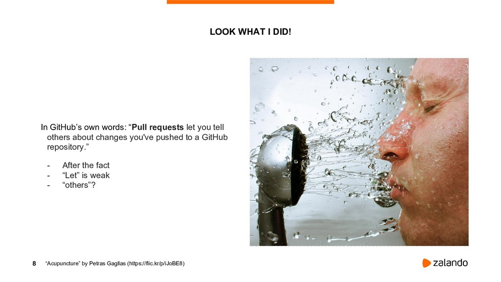 """8 LOOK WHAT I DID! In GitHub's own words: """"Pull..."""