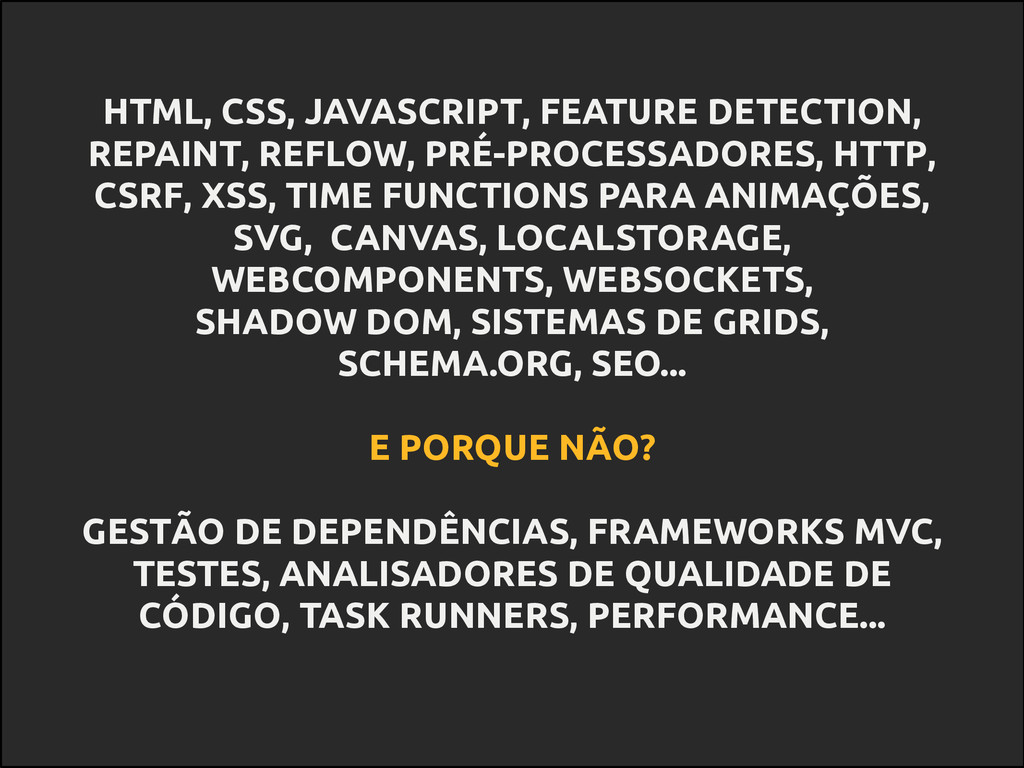 HTML, CSS, JAVASCRIPT, FEATURE DETECTION, REPAI...