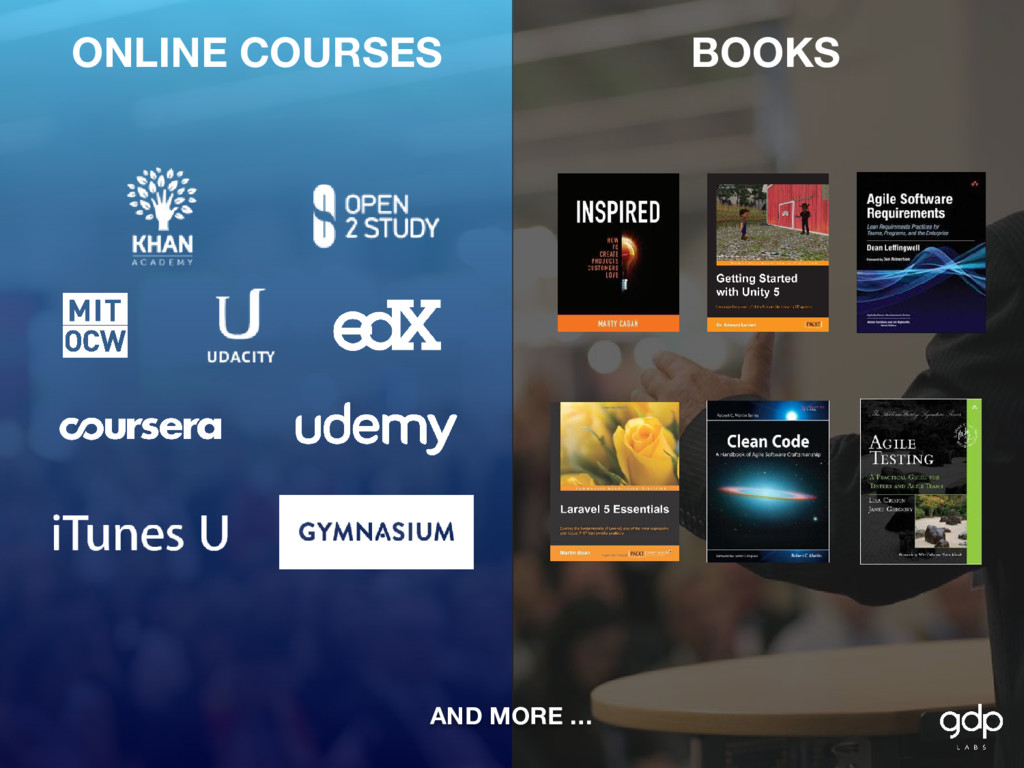ONLINE COURSES BOOKS AND MORE …
