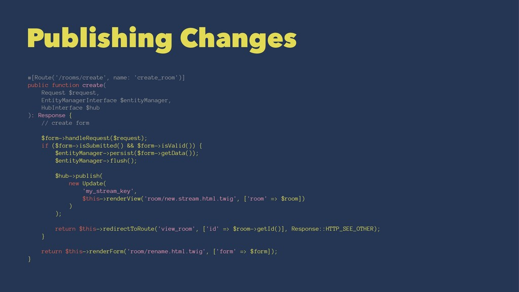 Publishing Changes #[Route('/rooms/create', nam...
