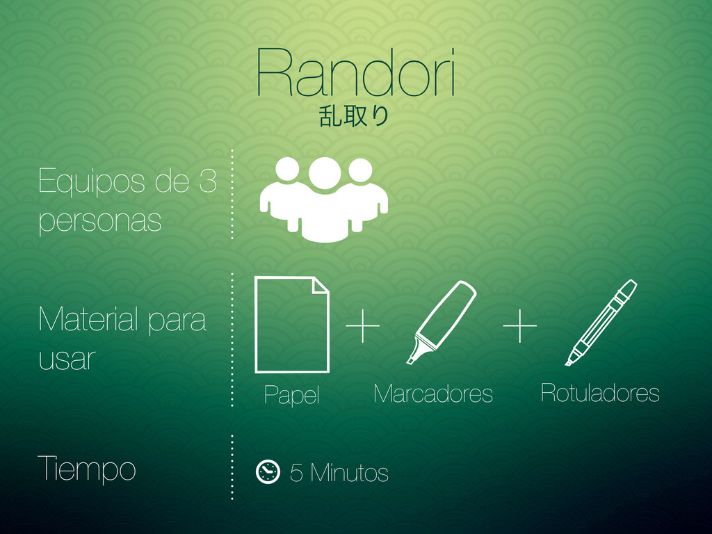 Randori ཚऔΓ Papel Marcadores Rotuladores + + Eq...