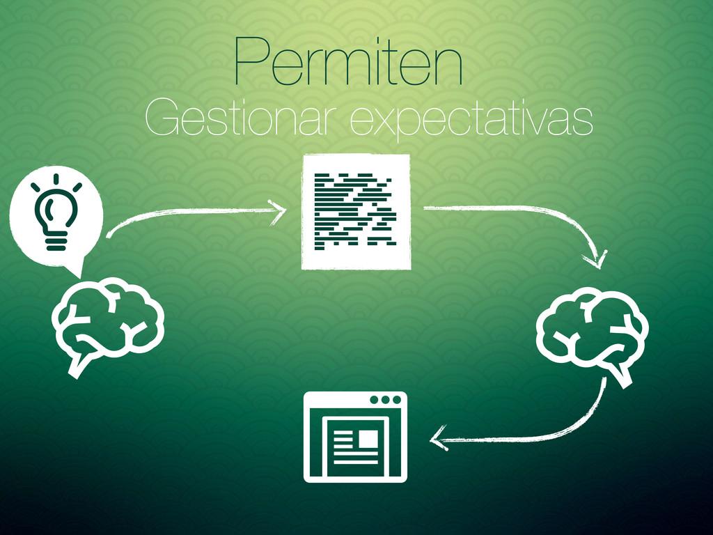 Permiten Gestionar expectativas Asd fd asd asDF...