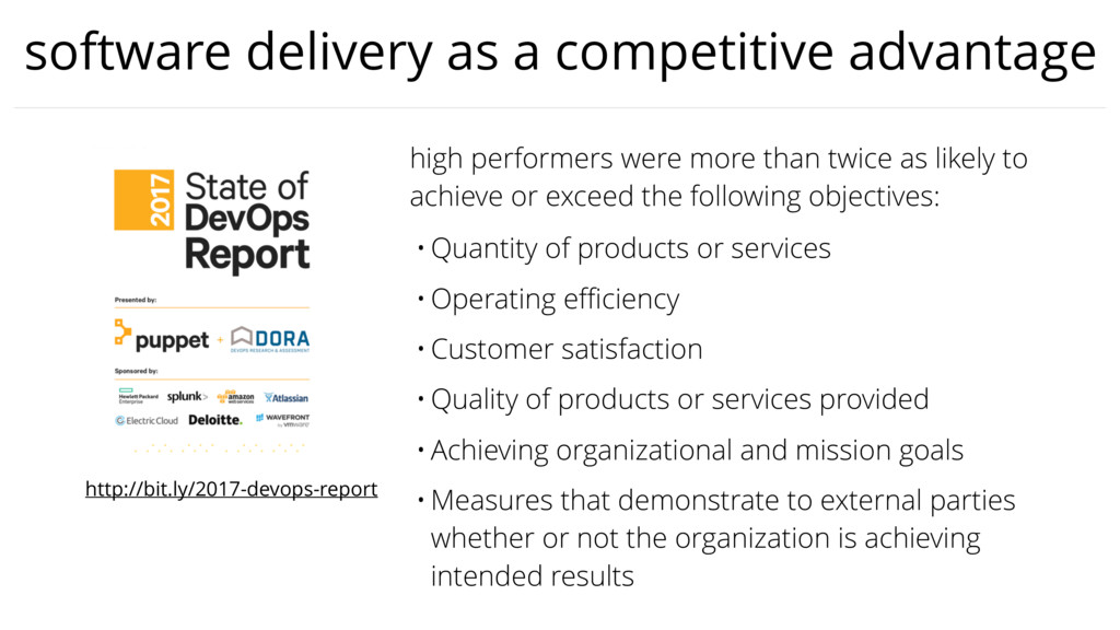 software delivery as a competitive advantage hi...