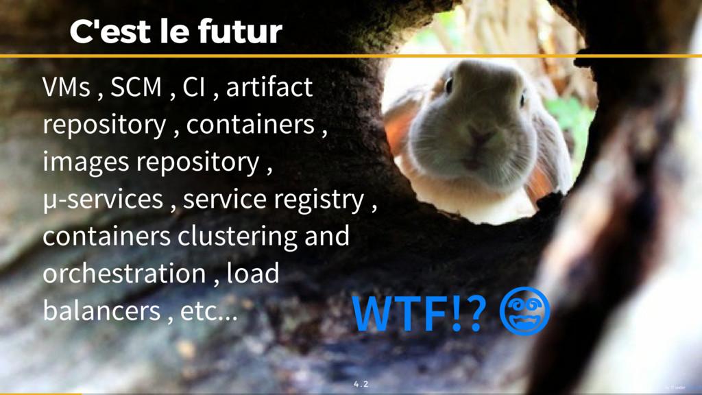 C'est le futur C'est le futur VMs , SCM , CI , ...