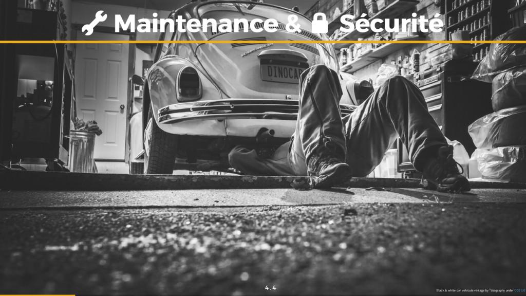 Maintenance & Maintenance & Sécurité Sécurité B...