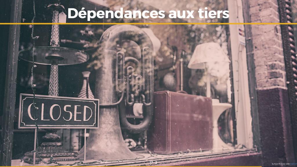 Dépendances aux tiers Dépendances aux tiers by ...