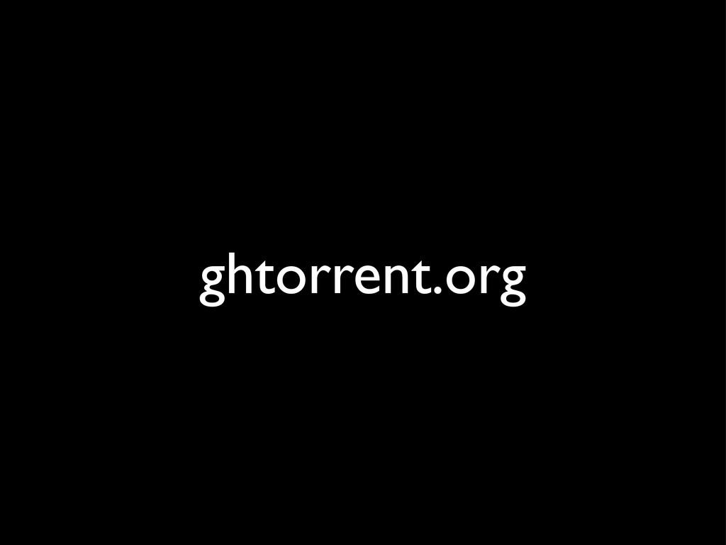 ghtorrent.org