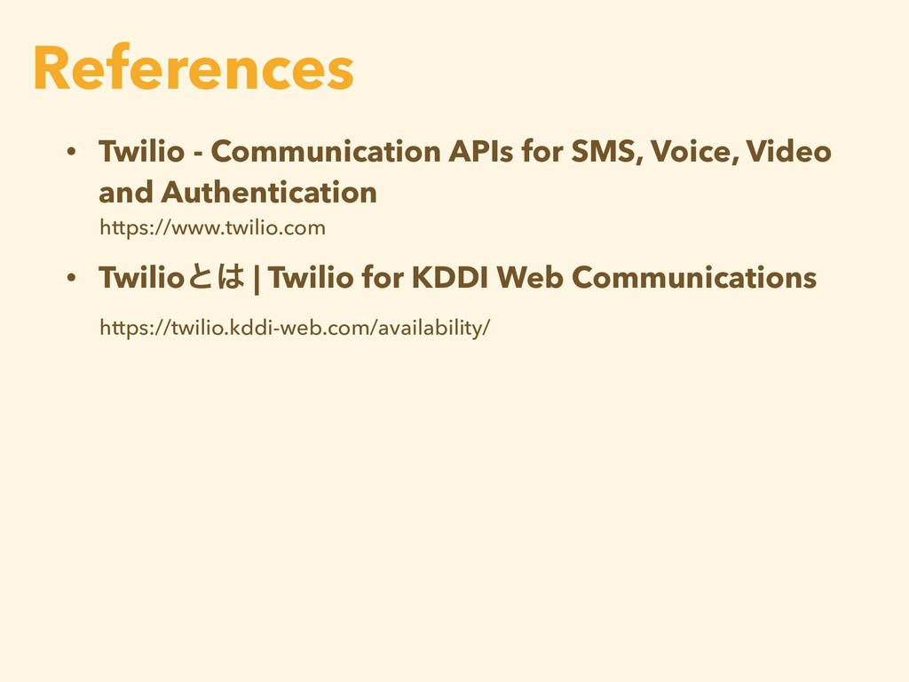 • Twilio - Communication APIs for SMS, Voice, V...