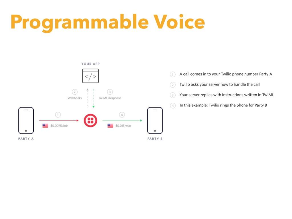 Programmable Voice