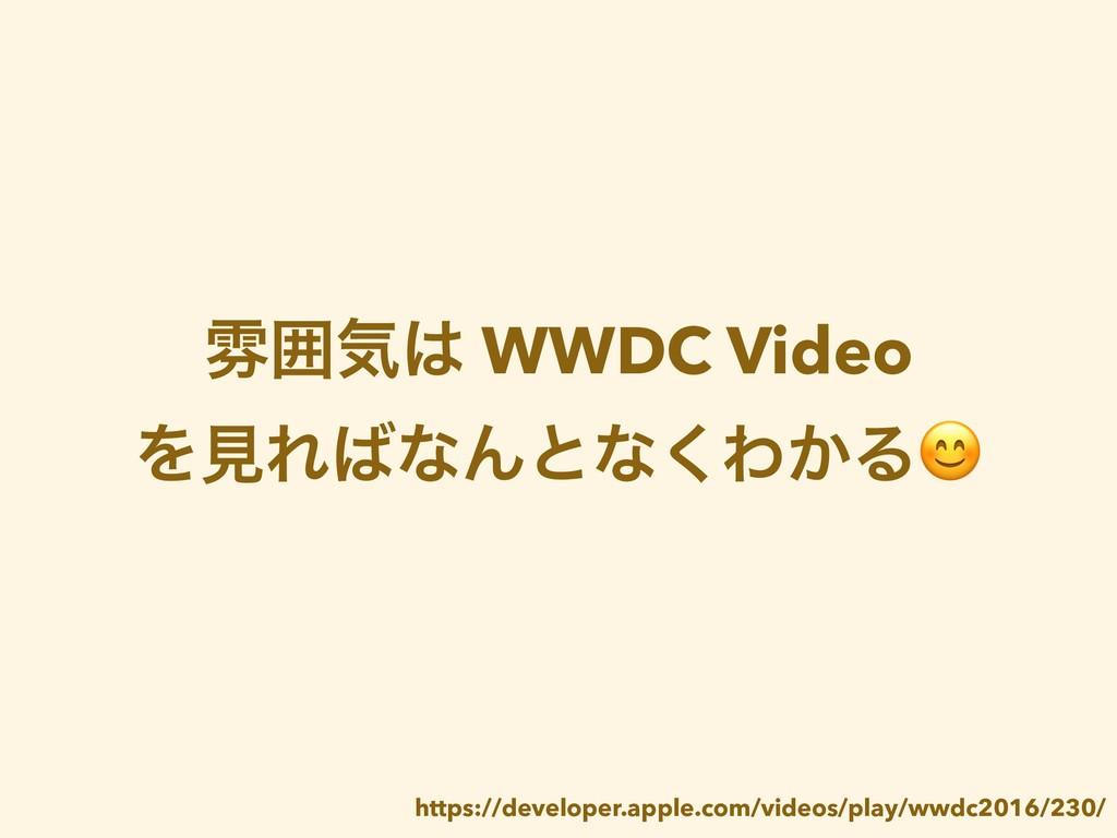 งғؾ WWDC Video ΛݟΕͳΜͱͳ͘Θ͔Δ https://developer....