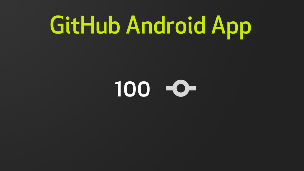 100 GitHub Android App 