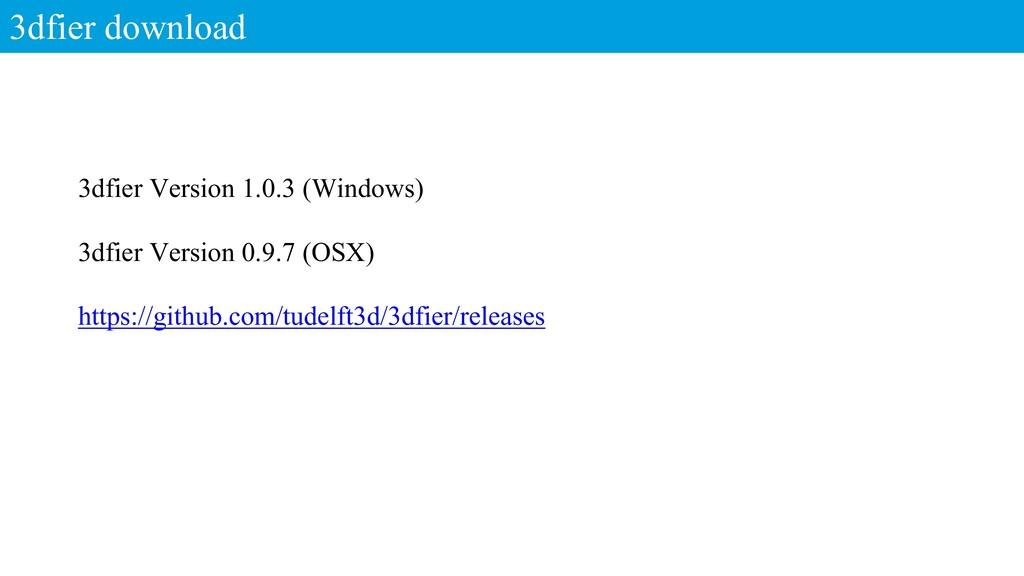 3dfier download 3dfier Version 1.0.3 (Windows) ...