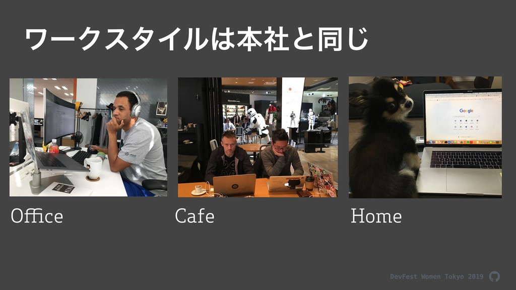 DevFest Women Tokyo 2019 ϫʔΫελΠϧຊࣾͱಉ͡ Office H...