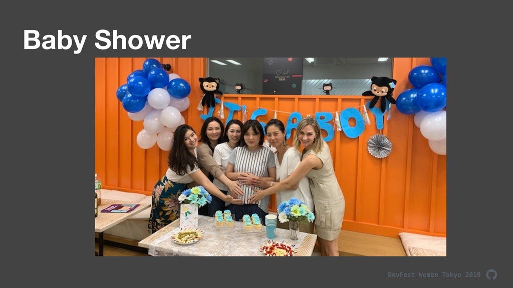 DevFest Women Tokyo 2019 Baby Shower