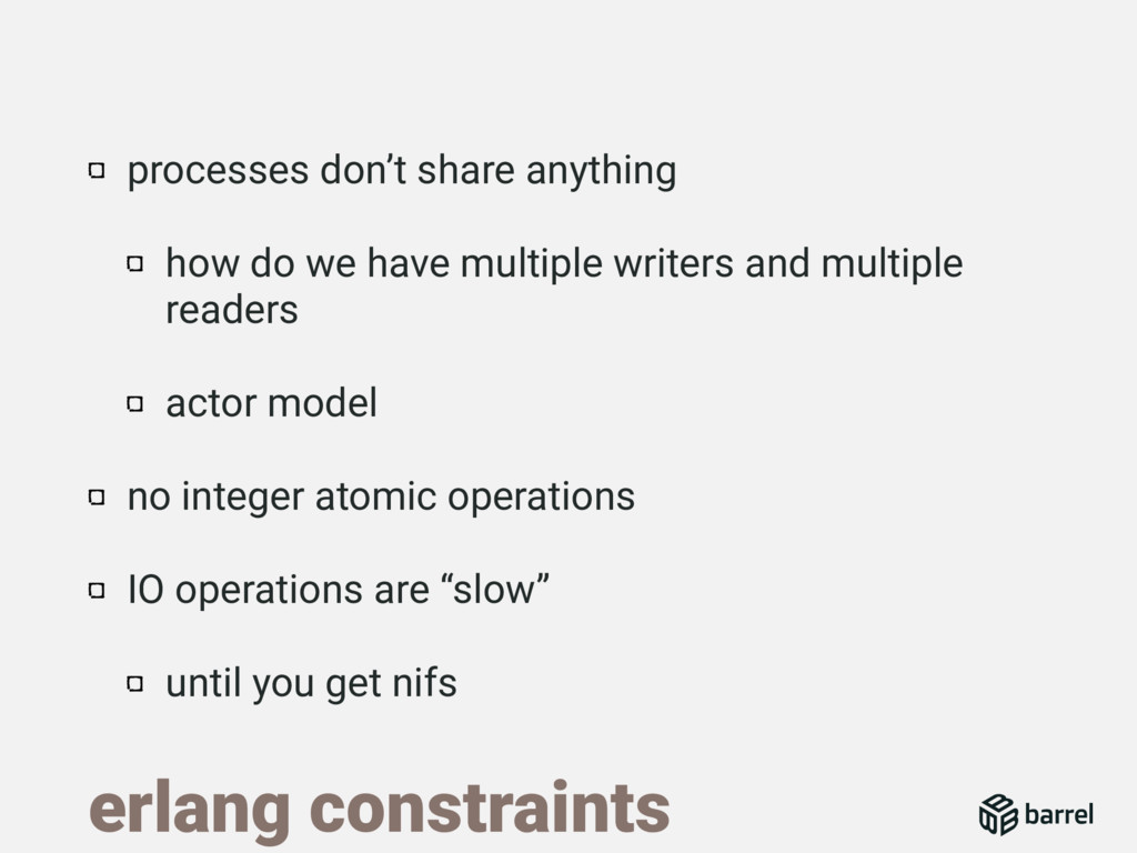 processes don't share anything how do we have m...