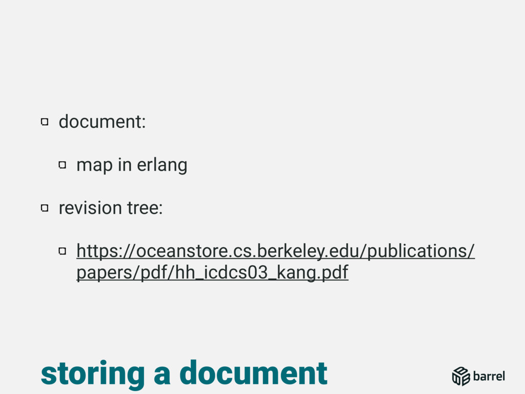 document: map in erlang revision tree: https://...