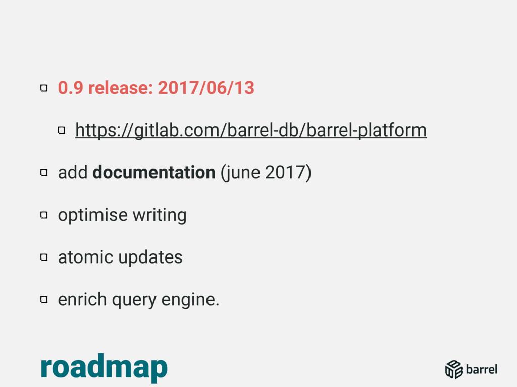 0.9 release: 2017/06/13 https://gitlab.com/barr...