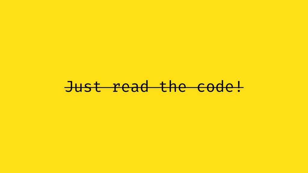 Just read the code!