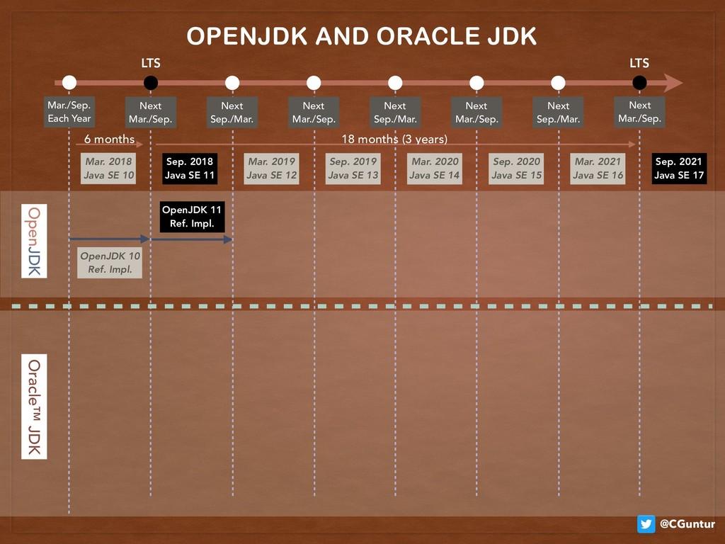 @CGuntur OpenJDK 10 Ref. Impl. OpenJDK 11 Ref...