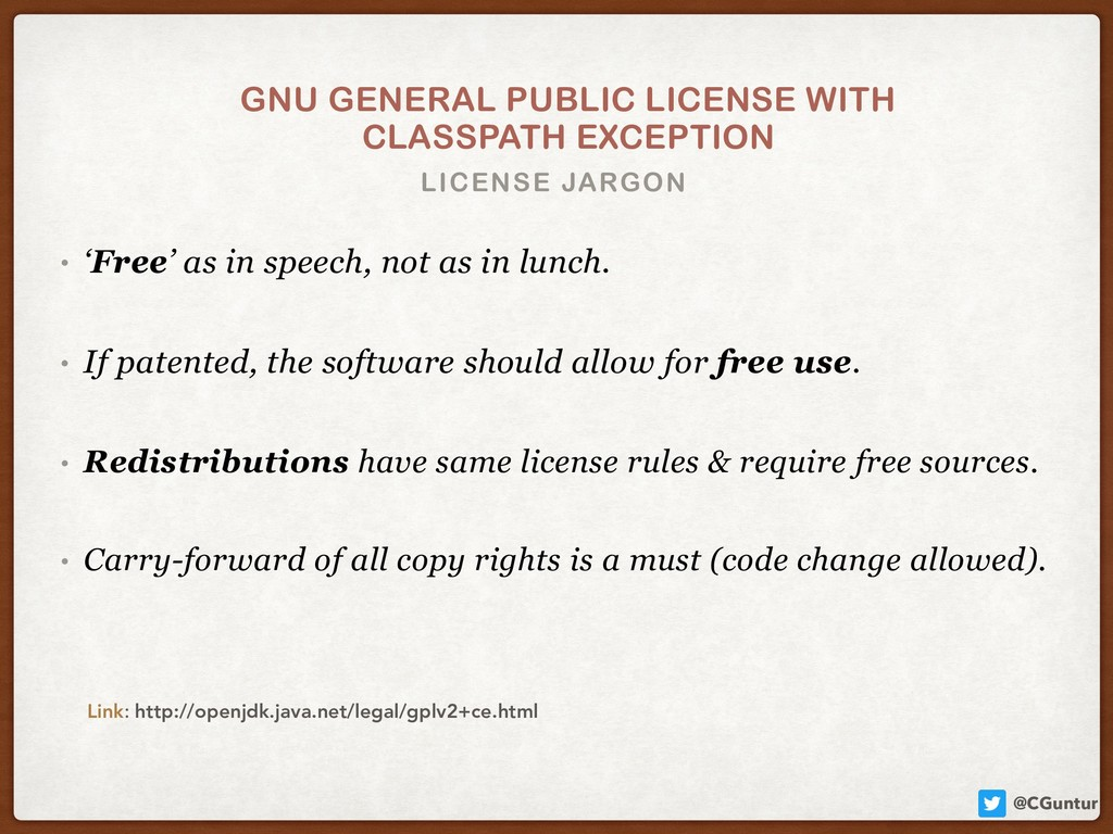 @CGuntur LICENSE JARGON GNU GENERAL PUBLIC LICE...