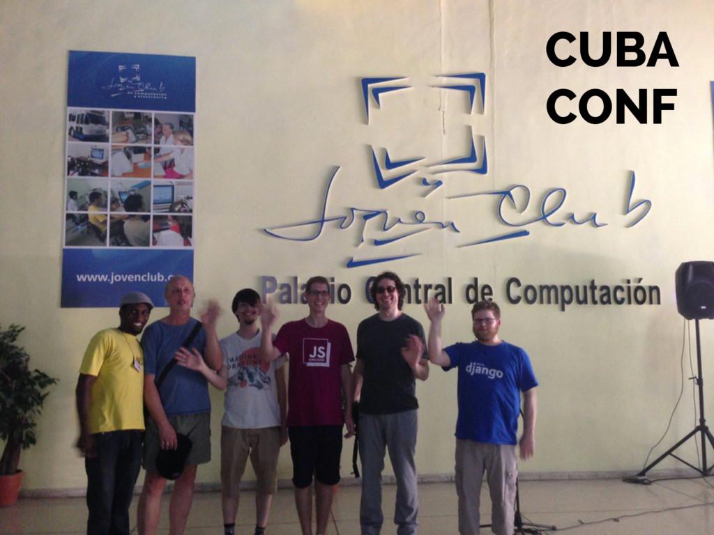 CUBA  CONF