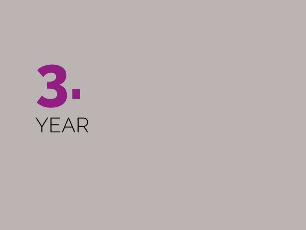 3.  YEAR