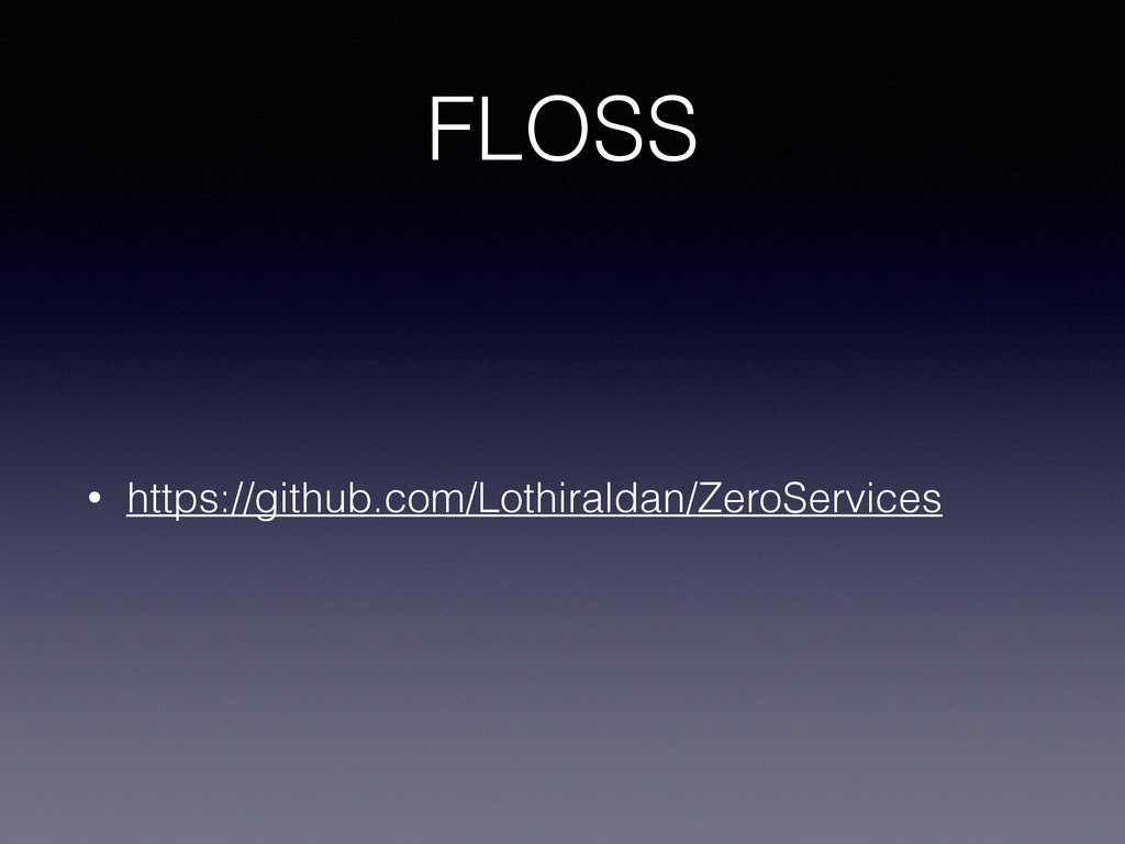 FLOSS • https://github.com/Lothiraldan/ZeroServ...