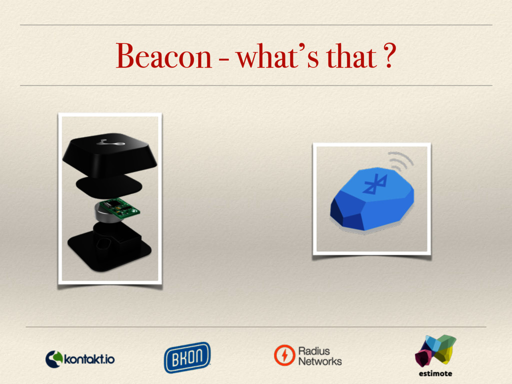 Beacon - what's that ?