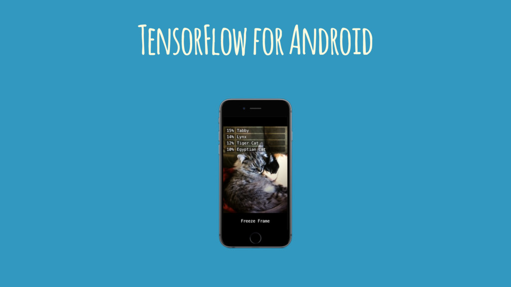 TensorFlow for Android
