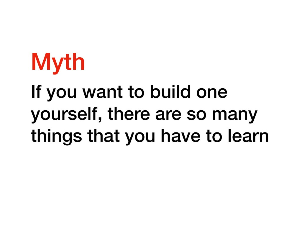 If you want to build one yourself, there are so...