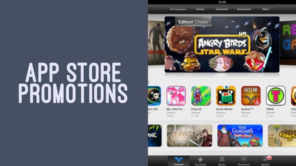 APP STORE PROMOTIONS